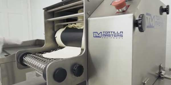Table Tortilla Machine Training - Video