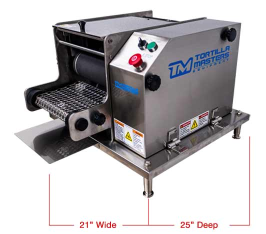 Corn Tortilla Machine Tabletop Corn Tortilla Maker By Tortilla Masters Equipment